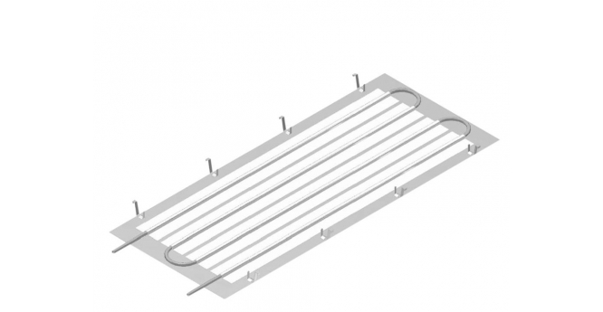 Contact Cooling Ceiling System Kks 4 Gk For Gypsum
